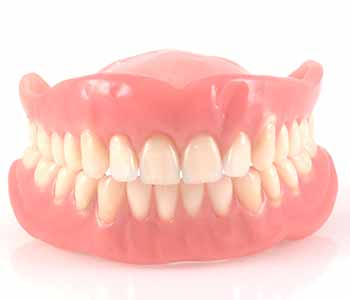 Full dentures are meant to replace the entire arch of teeth.