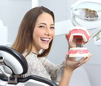 Patients who visit Dr. Clint Bruyere can learn about the advantages of full dentures and partial dentures.