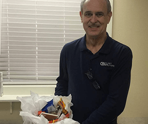 Dr. Clint Bruyere's donations